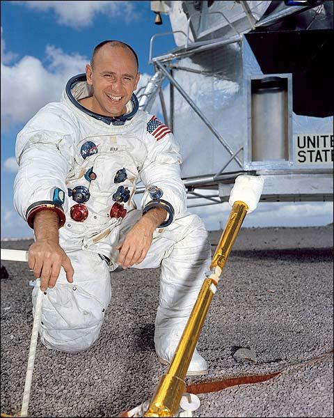 Apollo 12 Astronaut Alan Bean Portrait Photo Print for Sale