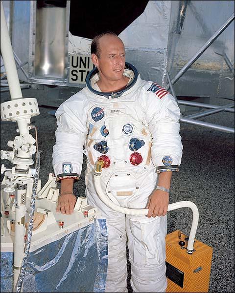 Apollo 12 Astronaut Charles 'Pete' Conrad Photo Print for Sale