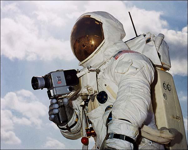 Apollo 13 Astronaut Jim Lovell Training Photo Print for Sale