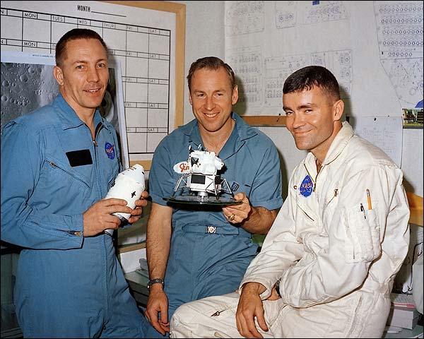 Apollo 13 Crew Swigert, Lovell & Haise Photo Print for Sale