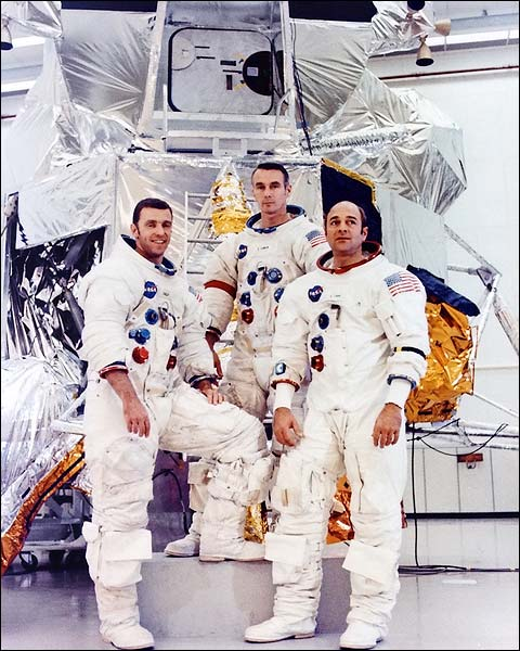 Apollo 14 Backup Astronauts Portrait NASA Photo Print for Sale