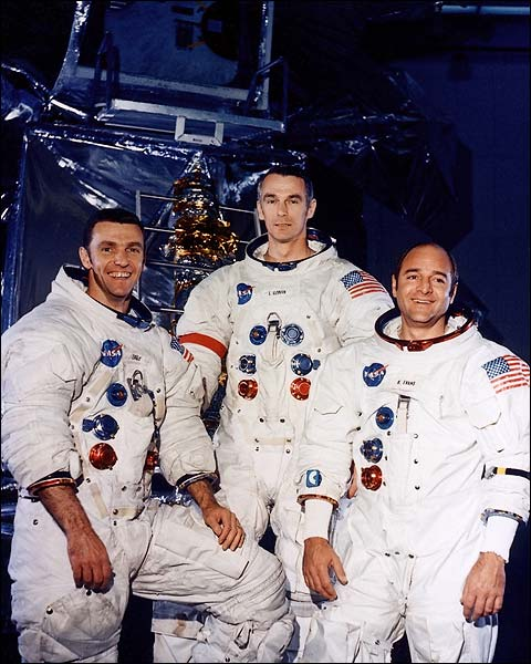 Backup Crew Engle, Cernan, and Evans Apollo 14 NASA Photo Print for Sale