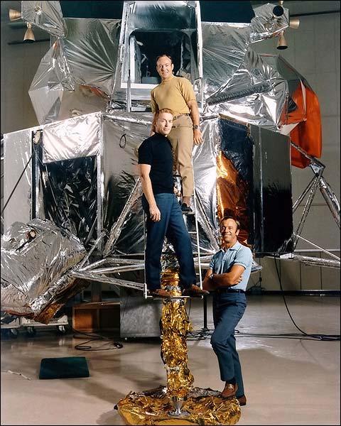 Apollo 14 Shepard, Roosa & Mitchell NASA Photo Print for Sale