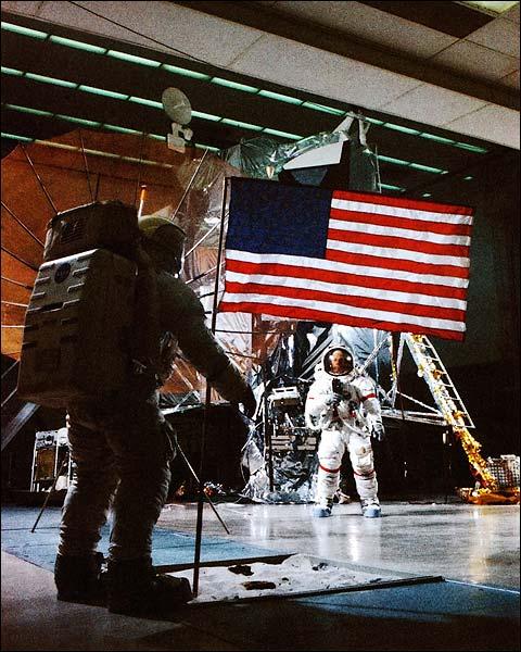 Apollo 14 Astronauts Shepard & Mitchell  Photo Print for Sale