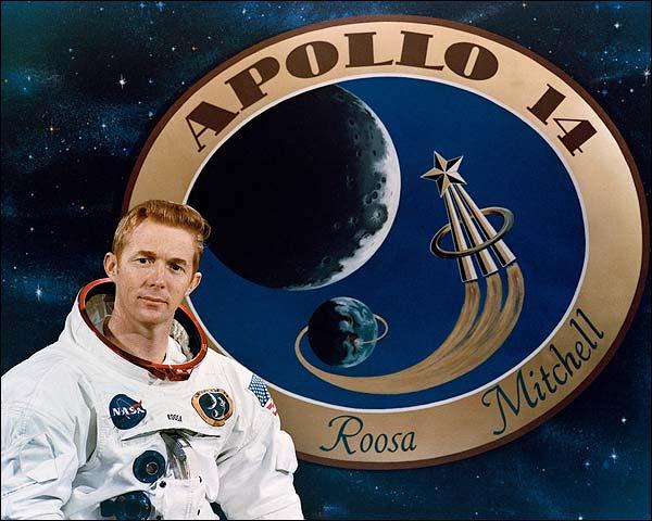 Apollo 14 Astronaut Stuart Roosa Portrait Photo Print for Sale