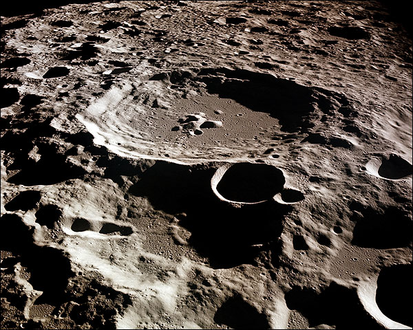 Craters on the Far side of the Moon NASA Photo Print for Sale