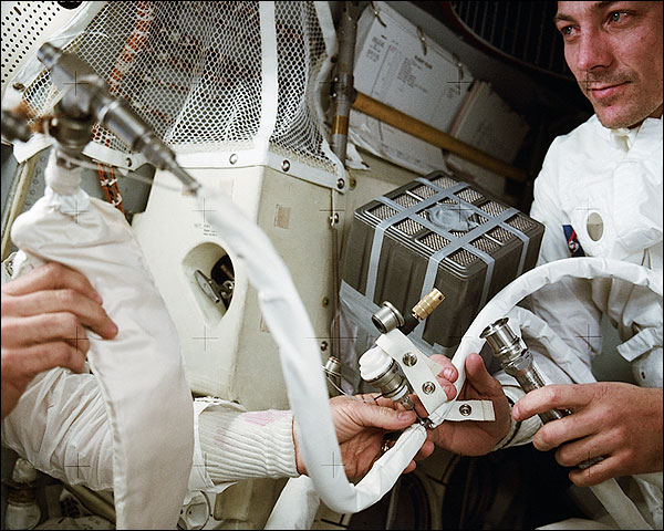 Apollo 13 John Swigert Showing 'Mailbox' Photo Print for Sale