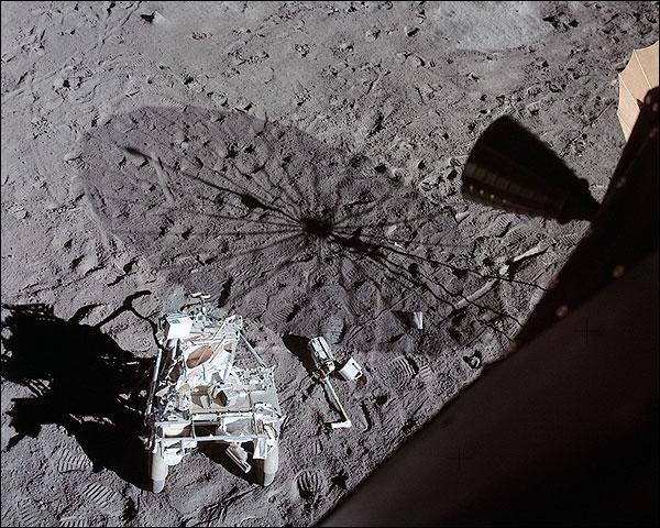 Apollo 14 View from Lunar Module Moon NASA Photo Print for Sale