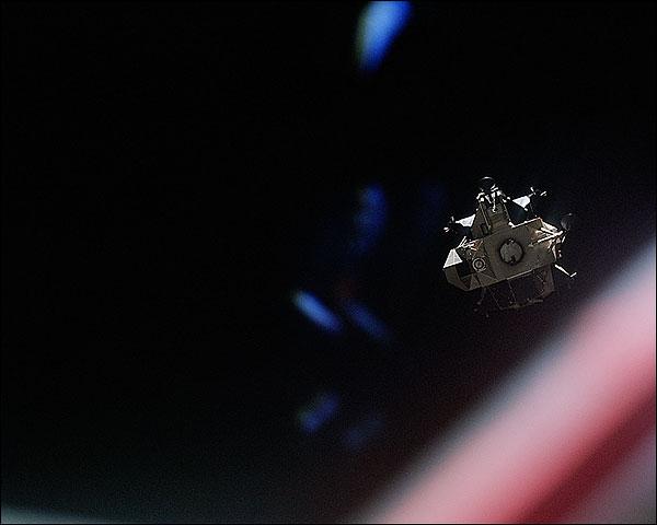 Apollo 14 Lunar Module in Space NASA Photo Print for Sale