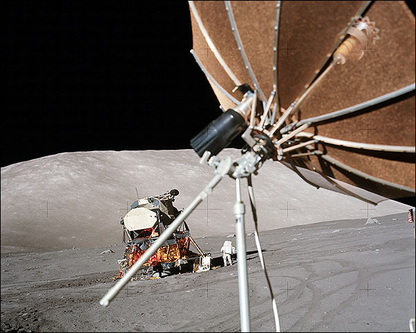 Apollo 17 Harrison 'Jack' Schmitt on Moon Photo Print for Sale