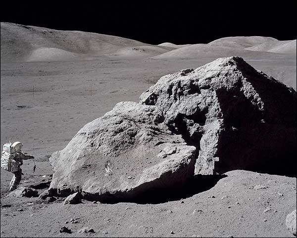 Apollo 17 Astronaut Harrison H Schmitt NASA Photo Print for Sale
