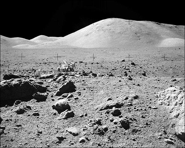 Apollo 17 Astronaut Eugene Cernan Moon NASA Photo Print for Sale
