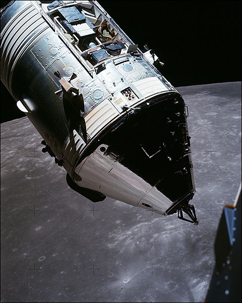 Apollo 17 CSM America over the Moon NASA Photo Print for Sale