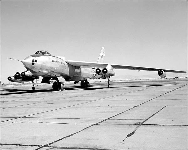 B-47 / B-47A Aircraft on Ramp NASA Photo Print for Sale