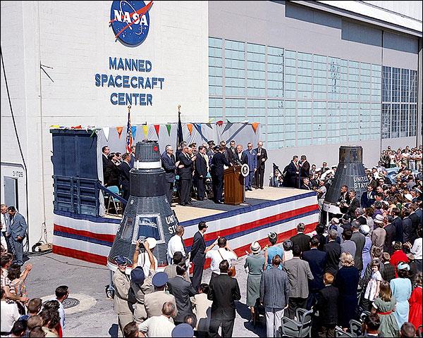 President John Kennedy Honoring John Glenn Photo Print for Sale