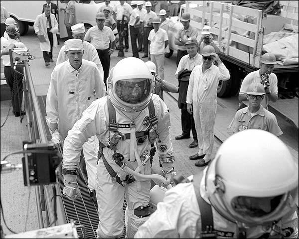 Gemini 5 Astronauts Conrad & Cooper NASA Photo Print for Sale