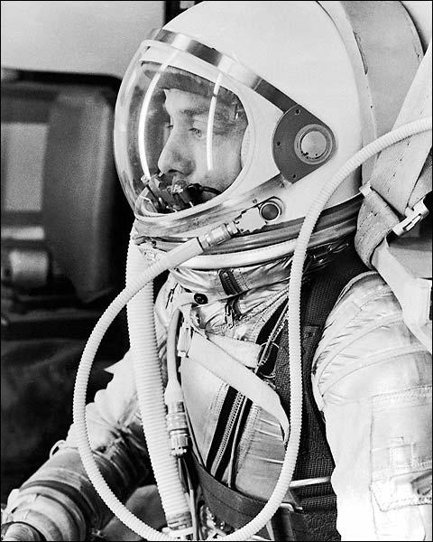 NASA Mercury Redstone 3 MR-3 Alan Shepard Photo Print for Sale