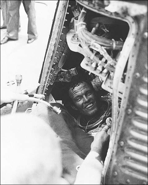 NASA Mercury Atlas 9 Faith 7 Astronaut Gordon Cooper  Photo Print for Sale