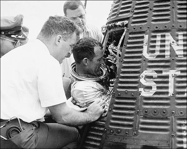 Mercury Faith 7 Astronaut Gordon Cooper NASA Photo Print for Sale
