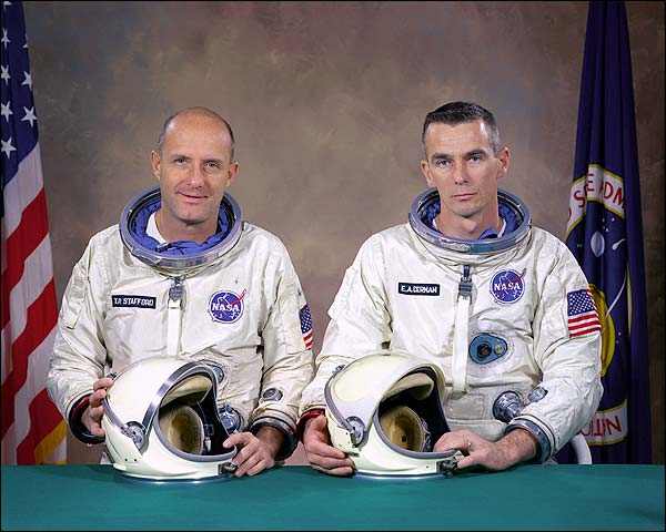 Gemini 9 Tom Stafford & Gene Cernan Photo Print for Sale