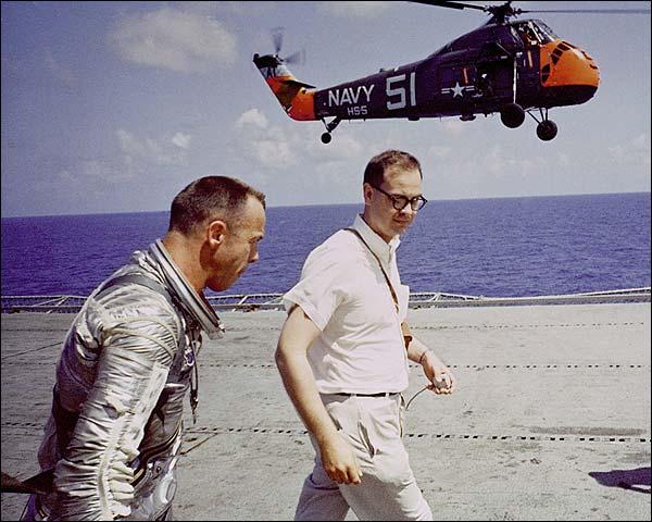Mercury Freedom 7 Astronaut Alan Shepard Photo Print for Sale