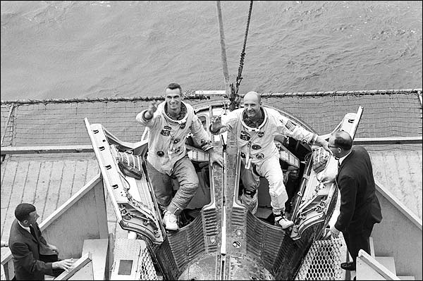 Gemini 9 Eugene Cernan & Thomas Stafford Photo Print for Sale