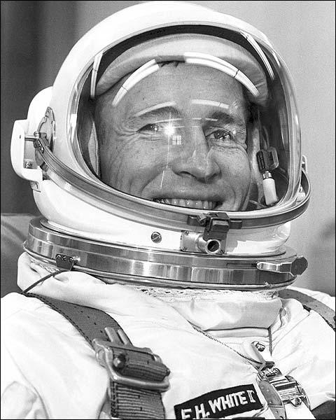 Gemini 4 Astronaut Edward White Portrait Photo Print for Sale