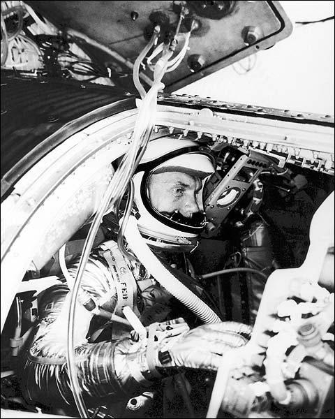 Mercury Astronaut John Glenn Training NASA Photo Print for Sale