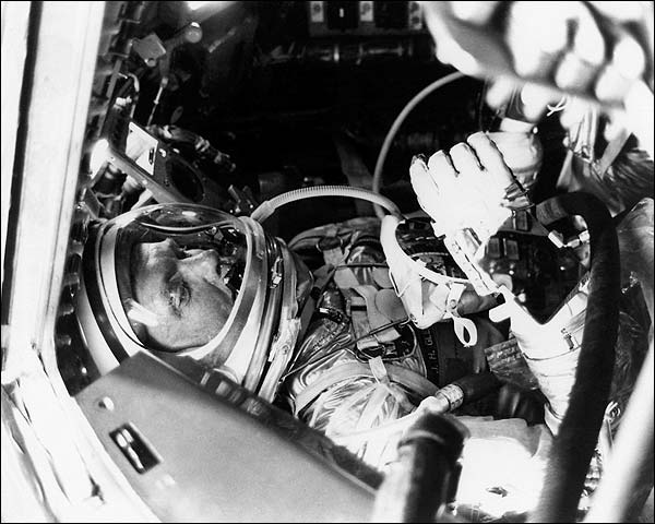 NASA Mercury Friendship 7 Astronaut John Glenn Photo Print for Sale