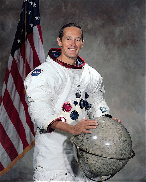 Apollo 16 Astronaut Charles Duke Portrait WSS Photo Print for Sale