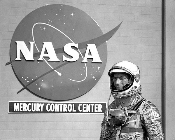 Mercury Astronaut Scott Carpenter NASA Photo Print for Sale