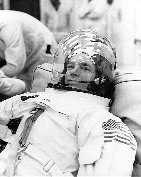 Apollo 9 David Scott Suited Up NASA Photo Print for Sale