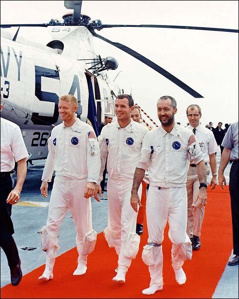 Apollo 9 Scott, McDivitt & Schweickart Photo Print for Sale