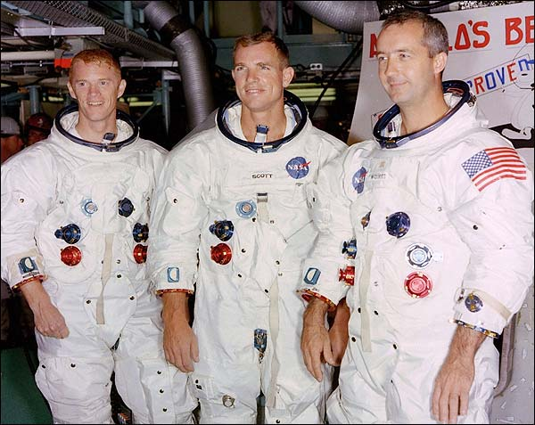 Scott, McDivitt & Schweickart Apollo 9  Photo Print for Sale