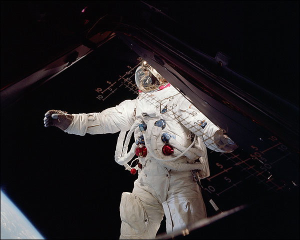 Apollo 9 Astronaut Russell Schweickart NASA Photo Print for Sale