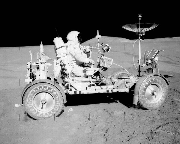 David Scott & Lunar Rover Apollo 15 NASA Photo Print for Sale