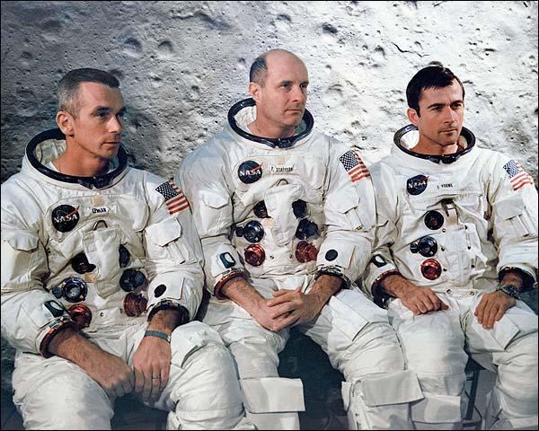 Apollo 10 Astronauts Prime Crew Portrait Photo Print for Sale