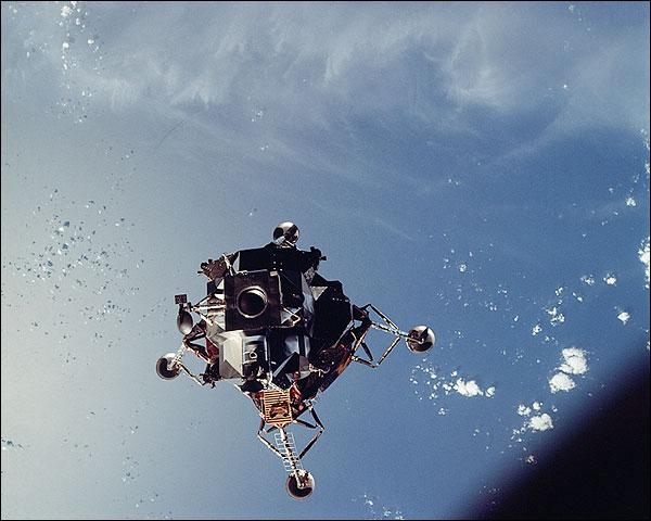 Apollo 9 Lunar Module Spider Atlantic Ocean Photo Print for Sale
