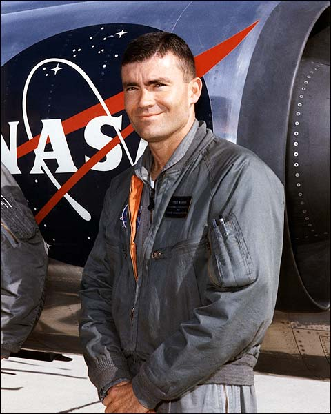 Apollo 13 Astronaut Fred Haise Portrait NASA Photo Print for Sale