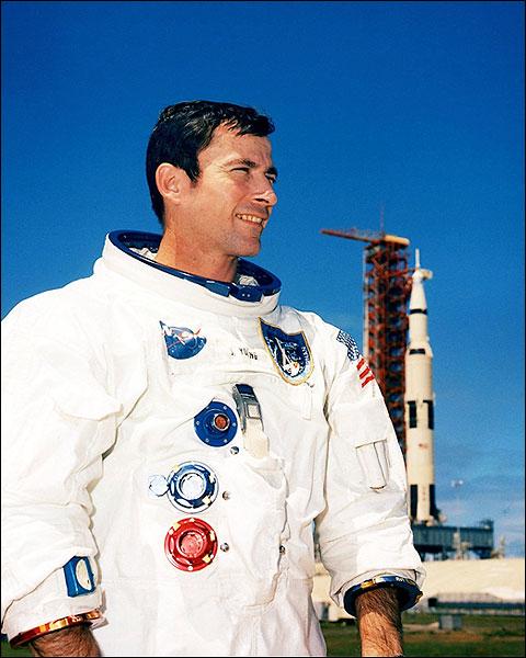 NASA Apollo 10 Astronaut John W. Young Photo Print for Sale