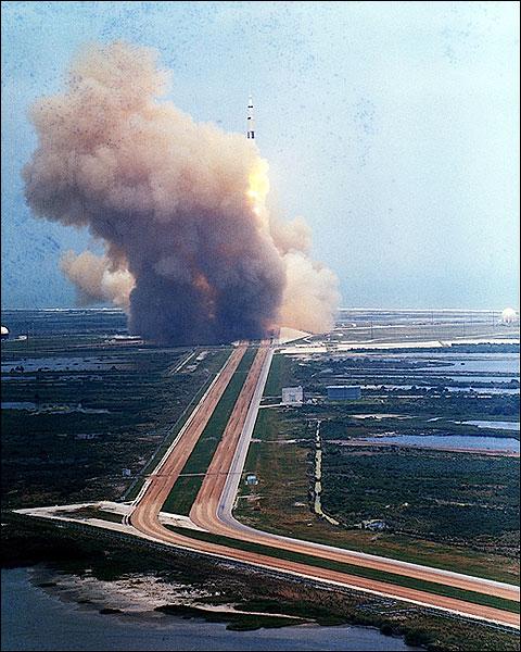 NASA Apollo 10 Saturn V Rocket Liftoff Photo Print for Sale