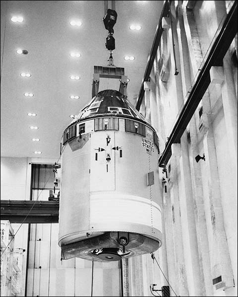 NASA Apollo 7 Spacecraft Command Module Photo Print for Sale