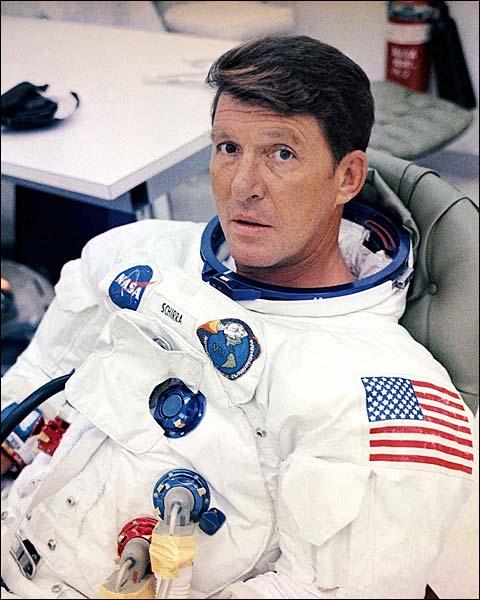 NASA Apollo 7 Commander Wally Schirra Photo Print for Sale