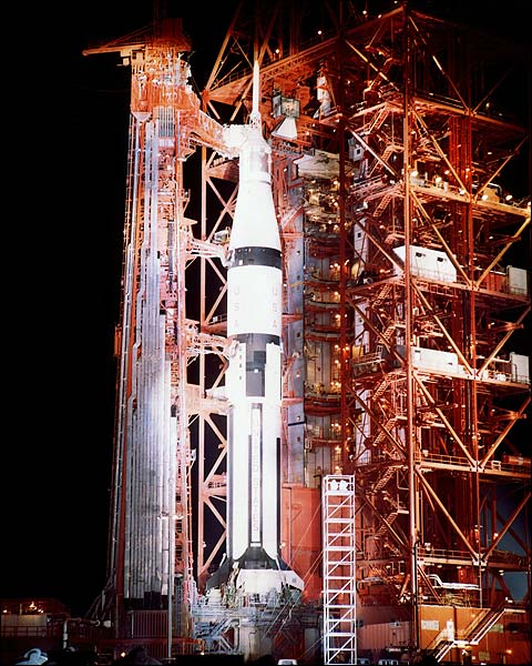 Apollo 7 Launch Pad Kennedy Space Center Photo Print for Sale