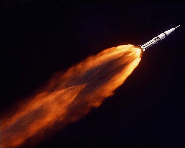 Apollo 7 Saturn 1B Rocket Launch Photo Print for Sale