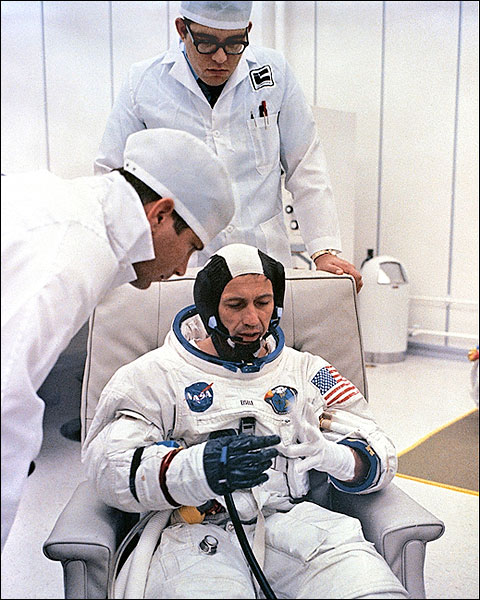 Apollo 7 Astronaut Donn Eisele NASA Photo Print for Sale