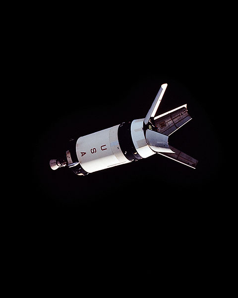 NASA Apollo 7 Saturn 1B Rocket Booster Photo Print for Sale