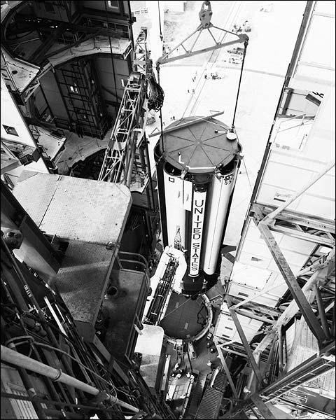 NASA Apollo 7 Spacecraft Construction Photo Print for Sale