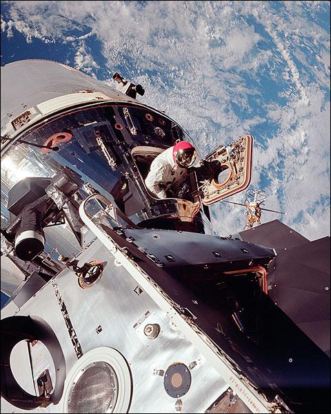 NASA Apollo 9 Astronaut David Scott EVA Photo Print for Sale
