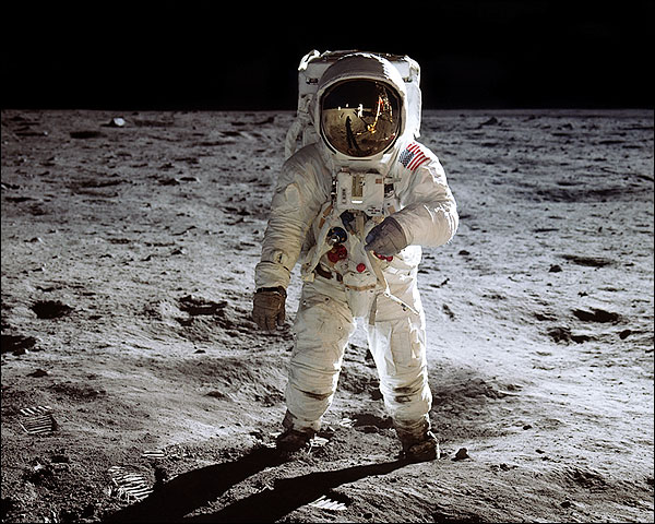 NASA Astronaut Buzz Aldrin EVA Apollo 11 Photo Print for Sale